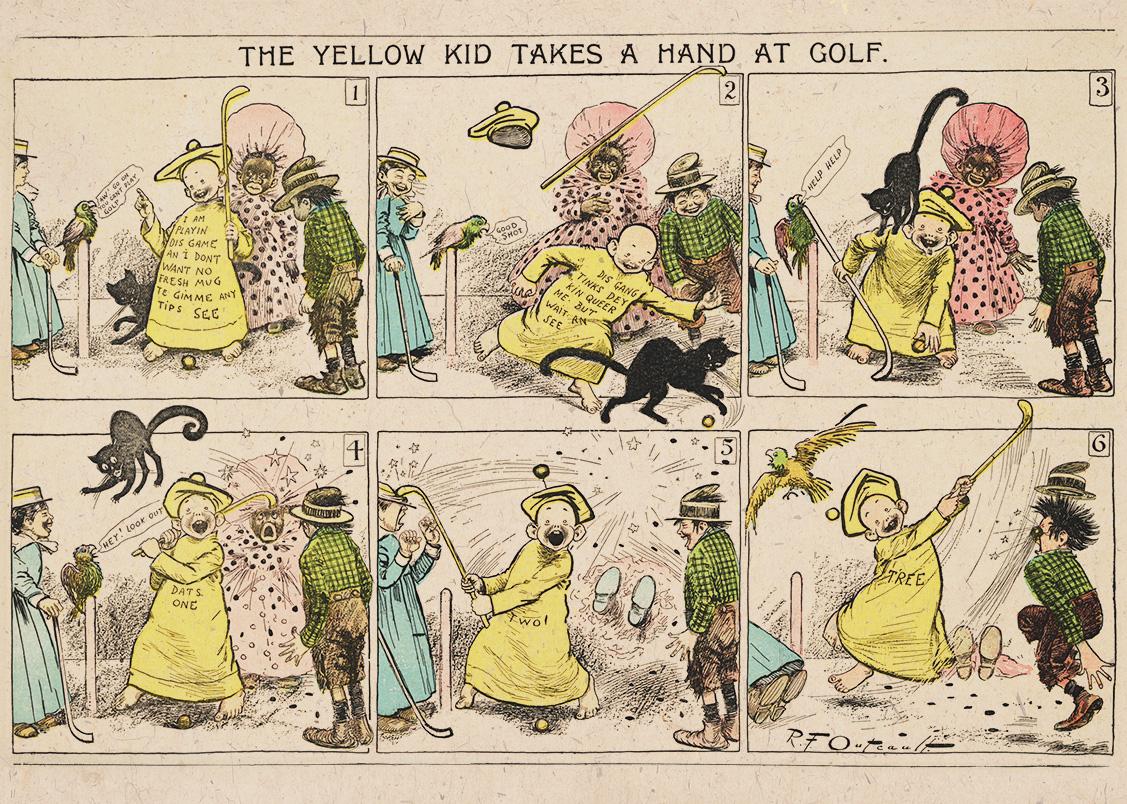 La storia del fumetto