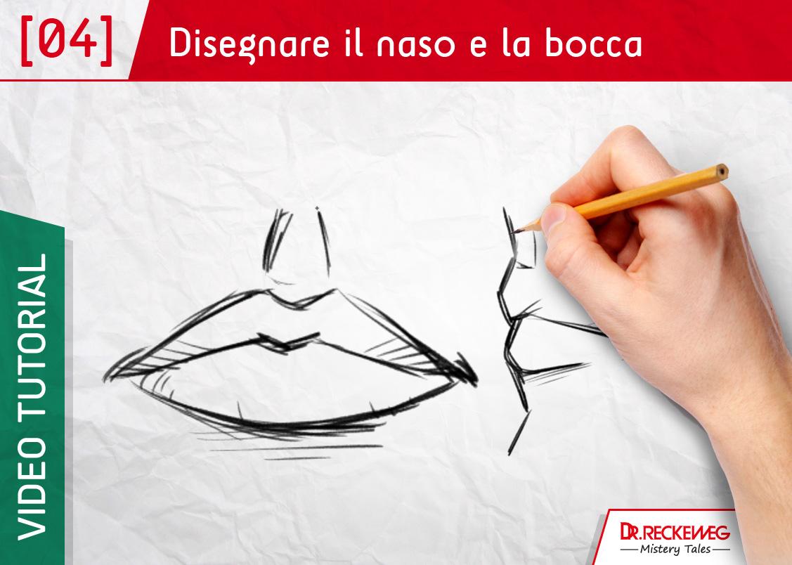 Popolare Corso di disegno online: come disegnare il naso e la bocca MD45