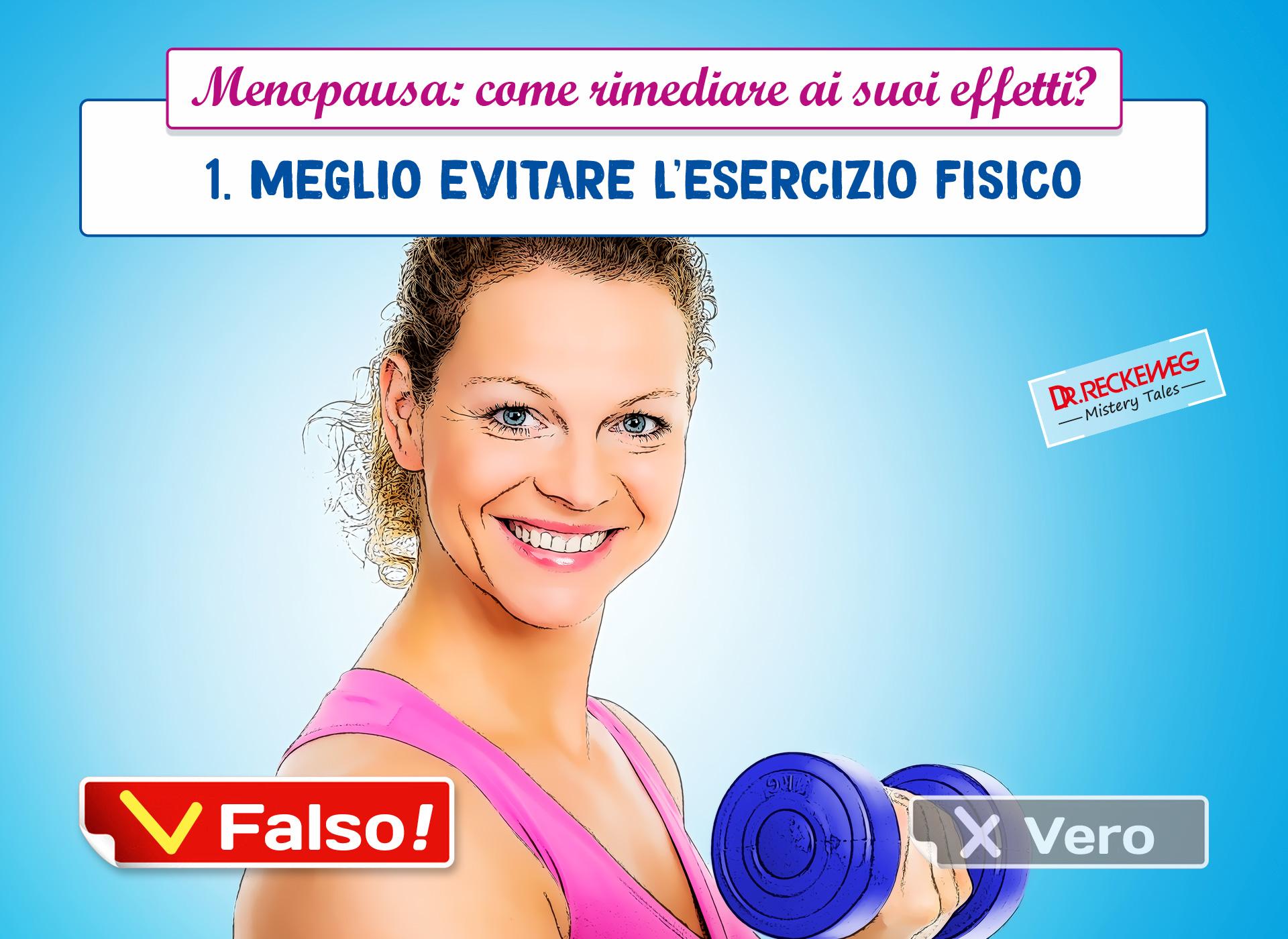 Menopausa e attività fisica